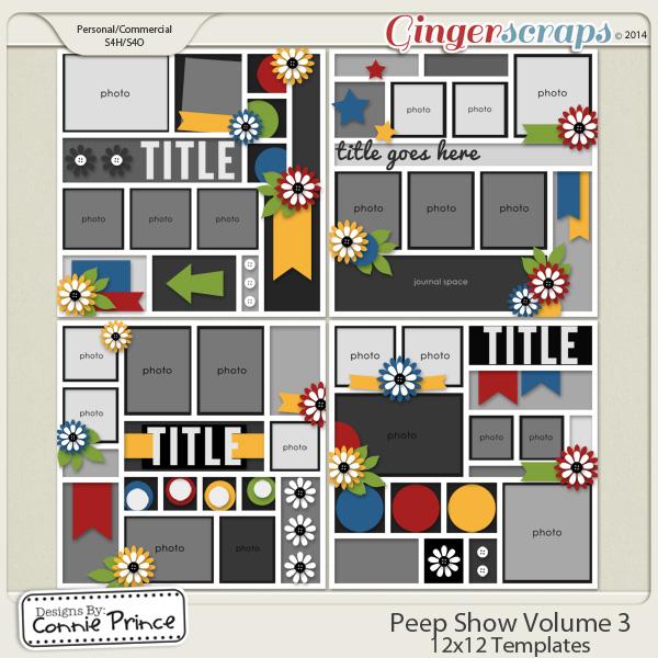 Peep Show Volume 3 - 12x12 Temps (CU Ok)