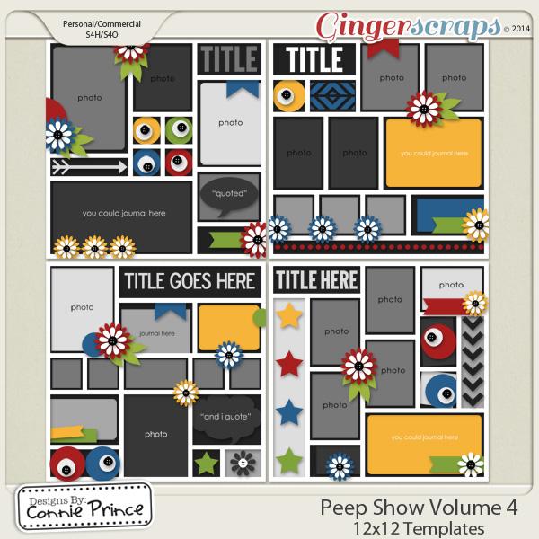 Peep Show Volume 4 - 12x12 Temps (CU Ok)