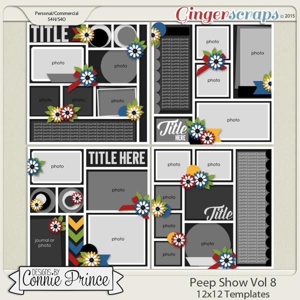 Peep Show Volume 8 - 12x12 Temps (CU Ok)