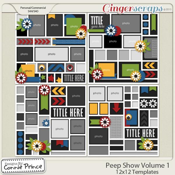 Peep Show Volume 1 - 12x12 Temps (CU Ok)