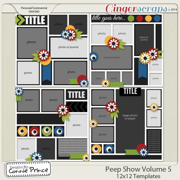 Peep Show Volume 5 - 12x12 Temps (CU Ok)