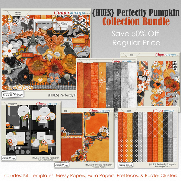 {HUES} Perfectly Pumpkin - Bundle