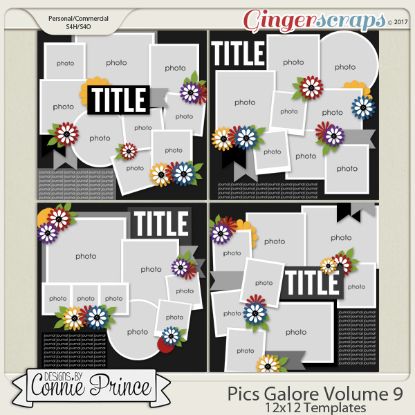 Pics Galore Volume 9 - 12x12 Temps (CU Ok) by Connie Prince