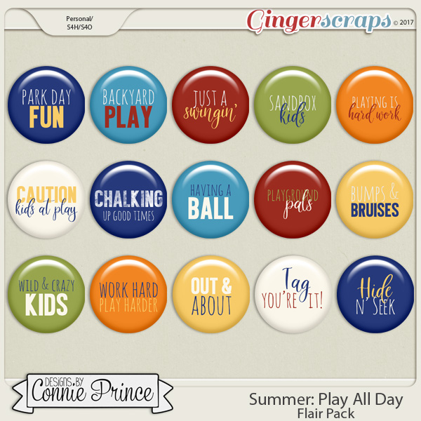 Play All Day – Flair Pack