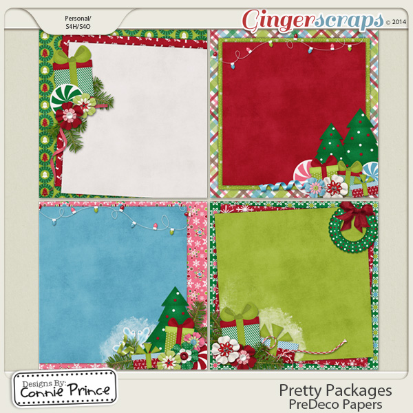 Pretty Packages - PreDeco Papers