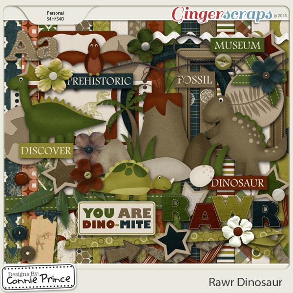 Rawr Dinosaur - Kit