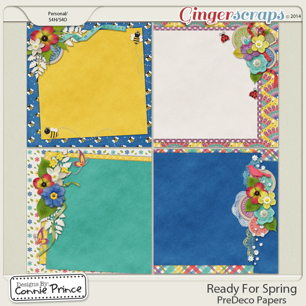Ready For Spring - PreDeco Papers