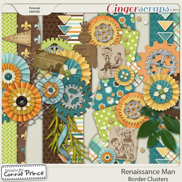 Renaissance Man - Border Clusters