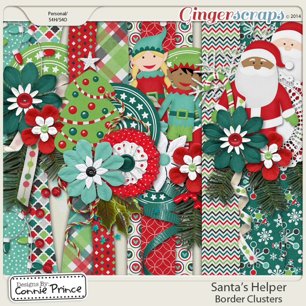 Santa's Helper - Border Clusters