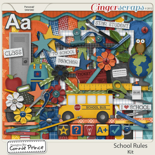 Retiring Soon - School Rules - Kit