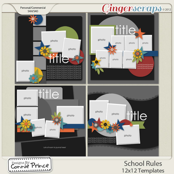 Retiring Soon - School Rules - 12x12 Temps (CU Ok)