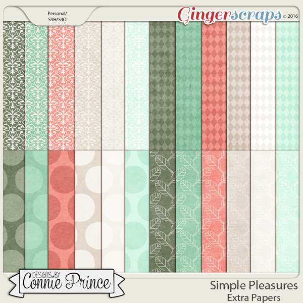 Simple Pleasures - Extra Papers
