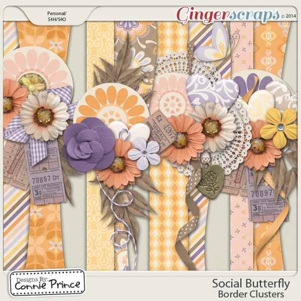 Social Butterfly - Border Clusters