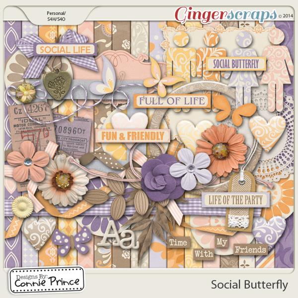 Social Butterfly - Kit