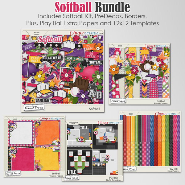 Softball - Bundle