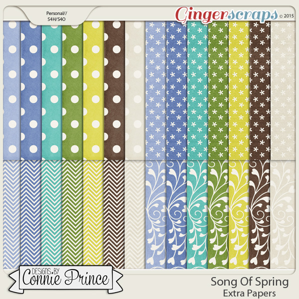 Song Of Spring - Extra Papers