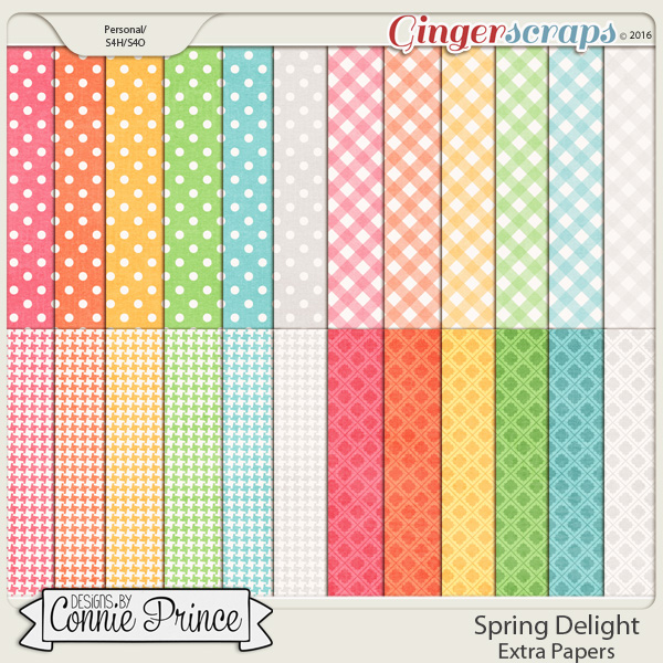 Spring Delight - Extra Papers