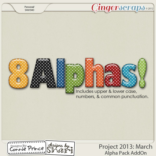 Project 2013: March - Alpha Pack AddOn