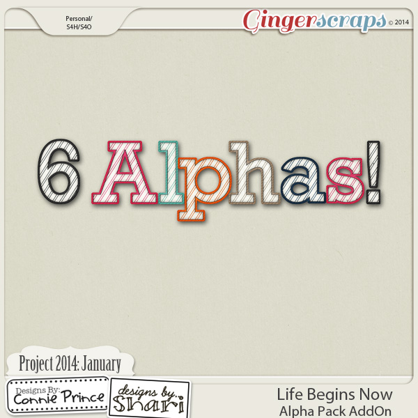 Project 2014 January:  Life Begins Now - Alpha Pack AddOn