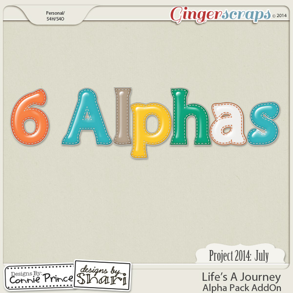 Project 2014 July: Life's A Journey - Alpha Pack AddOn