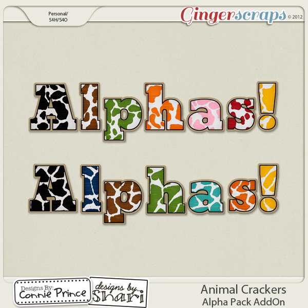 Animal Crackers - Alpha Pack AddOn