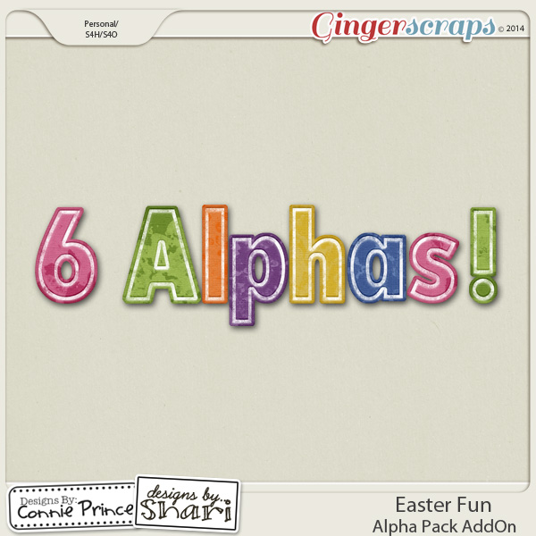 Easter Fun - Alpha Pack AddOn