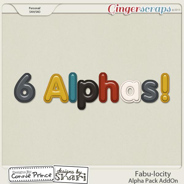 Fabu-locity - Alpha Pack AddOn