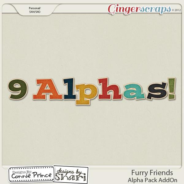 Furry Friends - Alpha Pack AddOn