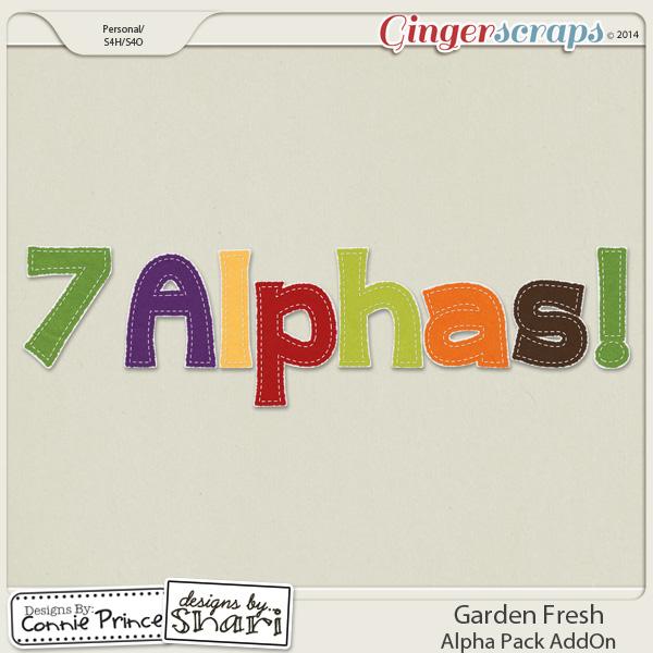 Garden Fresh - Alpha Pack AddOn