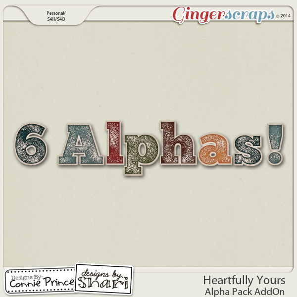 Heartfully Yours - Alpha Pack AddOn