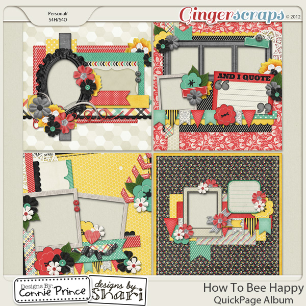 How To Bee Happy - QuickPage Album