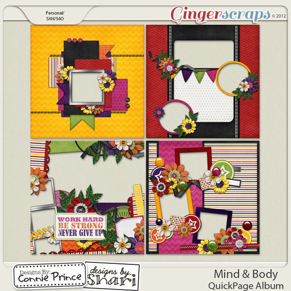 Mind & Body - QuickPages