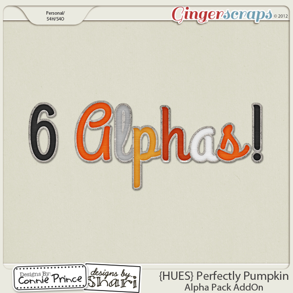 {HUES} Perfectly Pumpkin - Alpha Pack AddOn