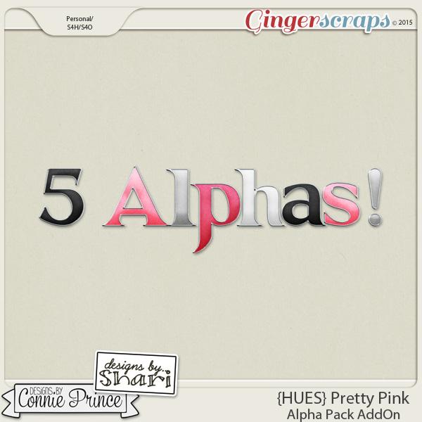 {HUES} Pretty Pink - Alpha Pack AddOn
