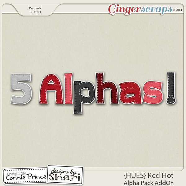 {HUES} Red Hot - Alpha Pack AddOn