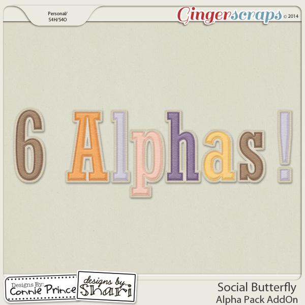 Social Butterfly - Alpha Pack AddOn