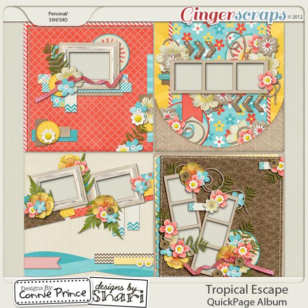 Retiring Soon - Tropical Escape - QuickPage Album