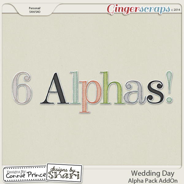 Wedding Day - Alpha Pack AddOn