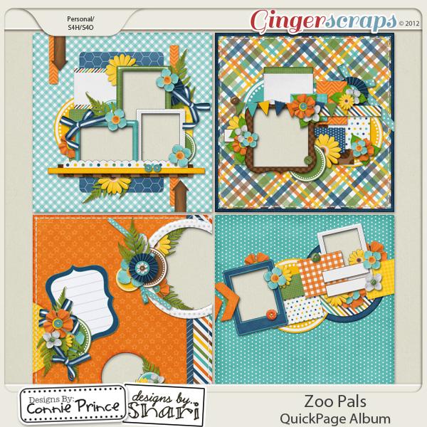 Zoo Pals - QuickPage Album
