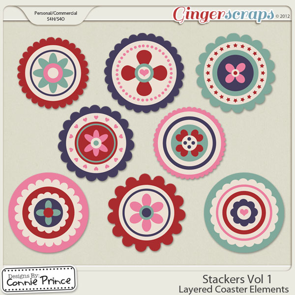 Retiring Soon - Stackers Vol 1 - Layered Coaster Templates (CU Ok)