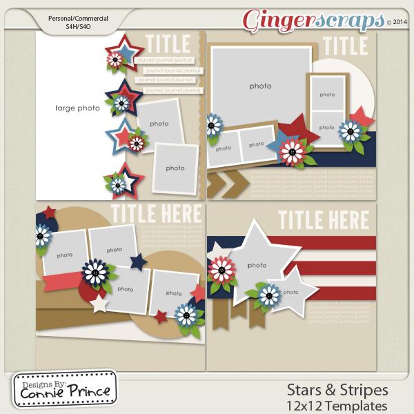 Stars & Stripes - 12x12 Temps (CU Ok)
