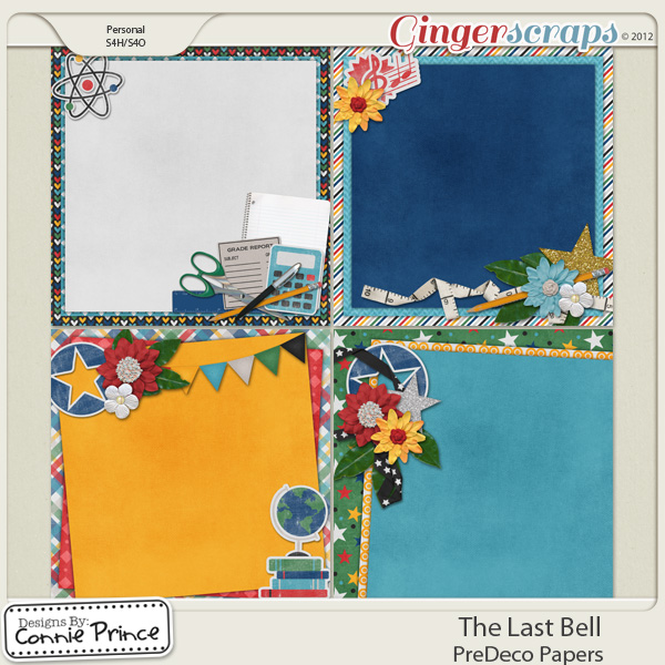Retiring Soon - The Last Bell - PreDeco Papers