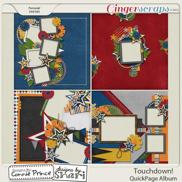 Touchdown! - QuickPage Album