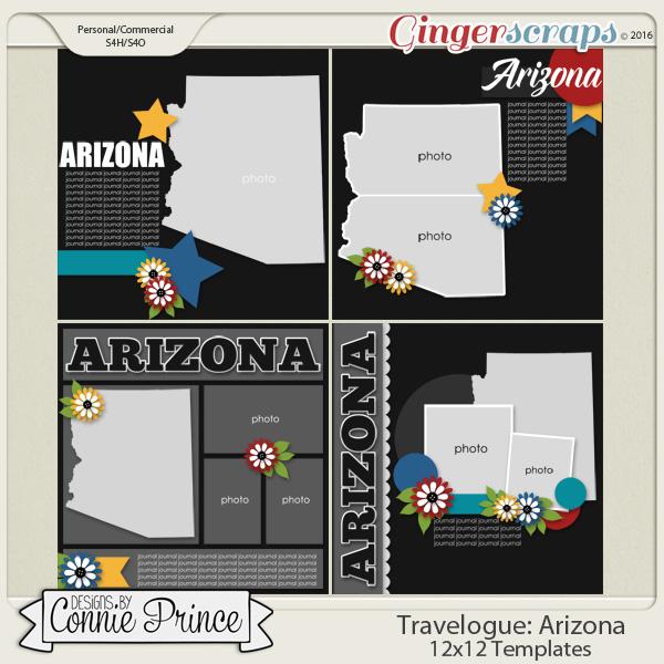 Travelogue Arizona - 12x12 Temps (CU Ok)