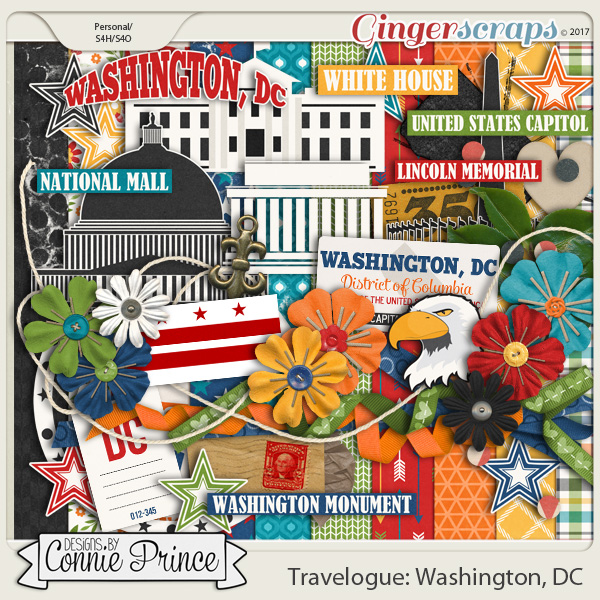 Travelogue Washington, DC - Kit