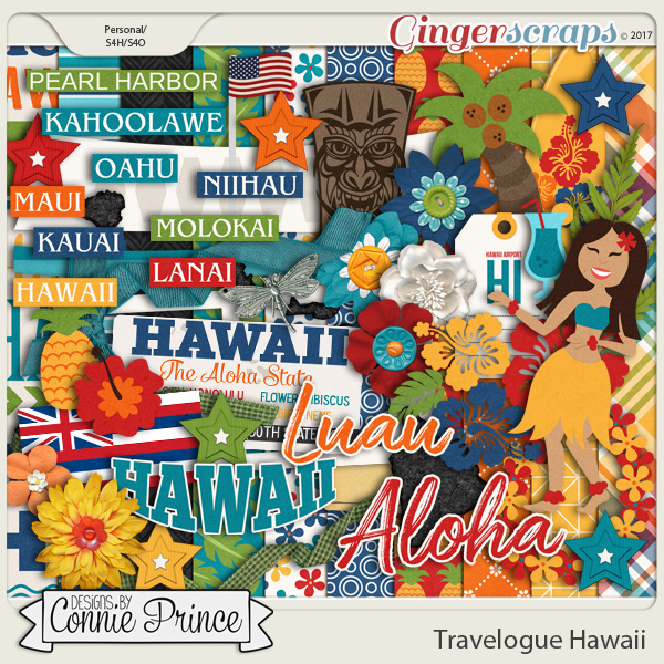 Travelogue Hawaii - Kit
