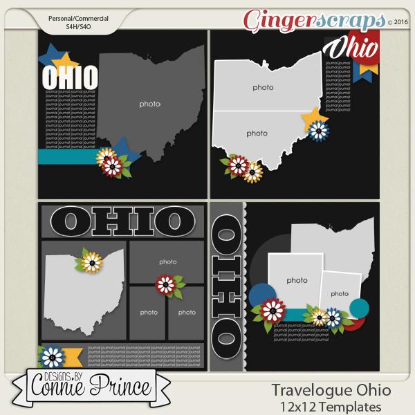 Travelogue Ohio - 12x12 Temps (CU Ok)