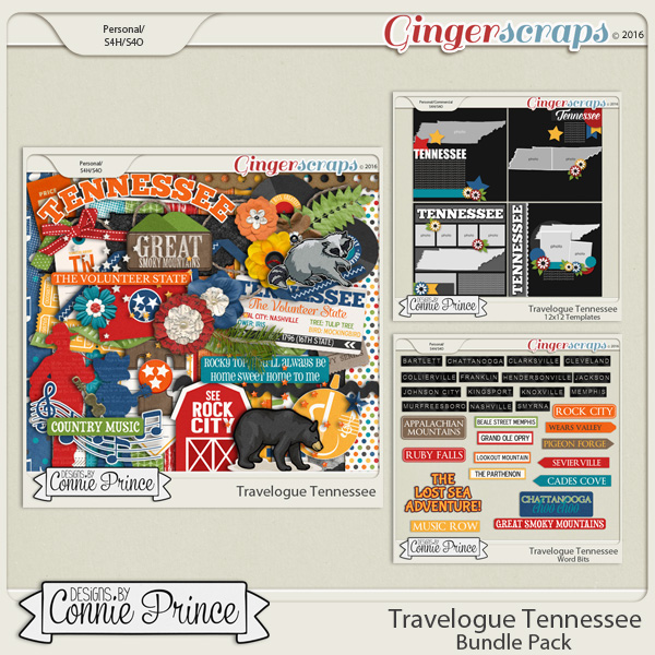 Travelogue Tennessee - Bundle Pack