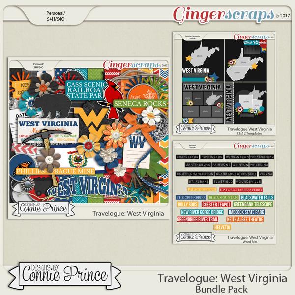 Travelogue West Virginia - Bundle Pack