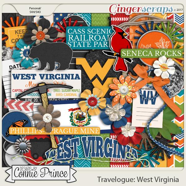 Travelogue West Virginia - Kit